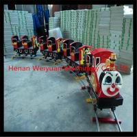 Buy cheap 14 seats amusements rides electric toy train for kids from wholesalers