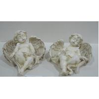 Wholesale Thinking cherub Angel Collectible Figurines statue collection for mothers day gift from china suppliers