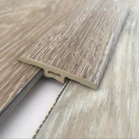 Buy cheap Wood Grain PVC Flooring Accessories Skirting Board Sound Insulation Length 2400mm from wholesalers