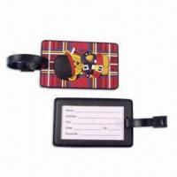 Buy cheap Luggage Tag with Paper Name Card, Customized Labels are Welcome product