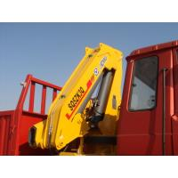 Buy cheap Durable Knuckle Boom Truck Mounted Crane 5T Lifting For Landscape Jobs from wholesalers