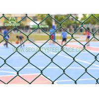 Buy cheap Diamond Security Galvanised Chain Link FencingAnti - Climb With 60 × 60mm Holes from wholesalers