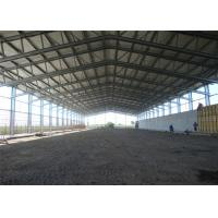 Buy cheap Fireproof Prefabricated Steel Frame Sheds For Agricultural Storage from wholesalers