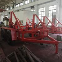 Buy cheap 12 Ton Underground Cable Tools Cable Pulling Trailer For Underground Site from wholesalers