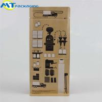 Buy cheap Kraft paper Eight-side coffee packing bag self-sealing custom printing pouch from wholesalers