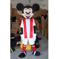 Buy cheap Funny disney football mickey mouse mascot costumes for theme Parks from wholesalers