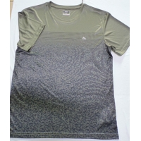 Buy cheap Short Sleeve 100% Polyester Breathable Mens Crew Neck T Shirt For Tennis from wholesalers
