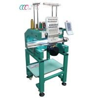 Wholesale Multi-color Single Head Cap / Shirt Embroidery Machine With Auto Trimming from china suppliers