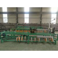 Buy cheap 3m width full automatic single wire/double wire feeding chain link fence machine from wholesalers