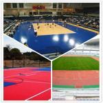 Buy cheap Outdoor Sport Court/Football/Basketball/Futsal Court/Supermarket PVC Interlocking flooring from wholesalers