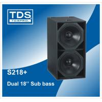 Buy cheap Dual 18 inch Woofer Speaker Box For Sound Equipment (F218+) from wholesalers
