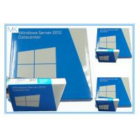Buy cheap Windows Server 2012 Versions Retail Box 64Bit  5 CALS English Original Factory Sealed from wholesalers