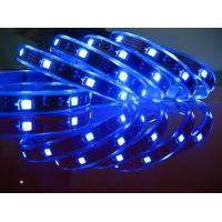 Buy cheap Blue / 120 degree / 1.2A 5050 SMD led strip light for advertisement sign lighting from wholesalers
