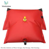 Wholesale collapsible 1000L  custom water storage tank fresh water holding tank pvc water bladder from china suppliers
