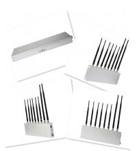 Handy-Signal-Störsender + GPS + WIFI + Funksprechgerät/drahtloser Kopfhörer (8 Antennen)