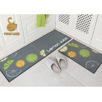 Buy cheap High Definition Printed Kids Room Felt Backed Carpet Underlay For Play / Crawling from wholesalers