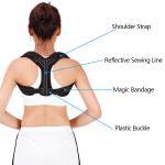 Buy cheap Comfortable Adjustable Shoulder Brace Upper Back Brace Magnetic Posture Corrector from wholesalers