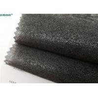 Wholesale Eco Friendly Fusible Non Woven Interlining 100% Polyester 112cm / 150cm Width from china suppliers