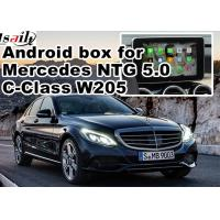 Wholesale WIFI car navigation box , android car navigation system DC9-15V Mercedes benz C class from china suppliers