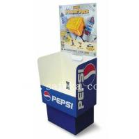 Buy cheap PEPSI Cardboard dump bin Display Stand for Retail from wholesalers