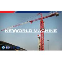 Wholesale Red Steel TC5210 6T Construction Tower Crane With Hammer Head from china suppliers