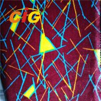 Buy cheap Colorful Printing 100% Polyester Bus Seat Covers Fabric 180G-360G/SQM with Much Designs from wholesalers