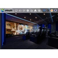 Buy cheap 18 Persons 5D Movie Theater With Special Effect System 3DOF Pneumatic Motion product
