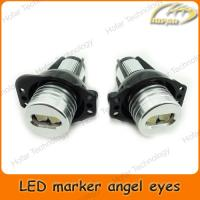 Buy cheap [H01007]6W LED Marker Angel Eyes for BMW E90 Sedan/Saloon E91 Touring No CANBUS Error from wholesalers