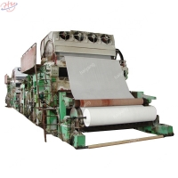 Buy cheap Fourdrinier 4200mm 0.4Mpa Facial Tissue Paper Machine from wholesalers