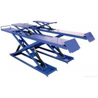 Buy cheap Double four hydraulic scissor hoist for vehicle chassis checking, scissor car lifts from wholesalers