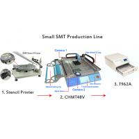 Buy cheap SMT Stencil Printer 3040 / CHMT48V SMT Pick and Place Machine / Benchtop SMT Reflow Oven from wholesalers