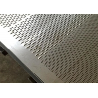 Buy cheap Diamond 0.8mm Punching Perforated Metal Mesh from wholesalers