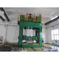 Buy cheap Hydraulic stamping press machine single action 100 Ton for bending and press forming from wholesalers