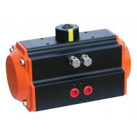 Buy cheap Orange AT-75 Rack And Pinion Pneumatic Actuator With Double Acting NAMUR ISO 5211 from wholesalers