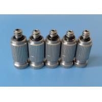 Buy cheap stainless steel Anti-drip water fine low pressure fog misting nozzle from wholesalers