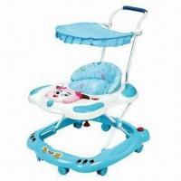 Buy cheap Baby Walker with Brakes and Music, Can Add Pushbar and Canopy from wholesalers