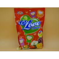 Buy cheap Bag pack Heart Shape Lollipop Healthy Hard Candy / Low Cal Candy For Children baby candy product