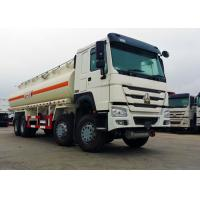 Wholesale 25 CBM 8x4 Oil Tanker Truck Stainless Steel Material 371HP Diesel Engine from china suppliers