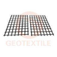 Buy cheap Low Elongation 3.95m Polyester Geogrid For Road Reinforcement Warp Knitted from wholesalers