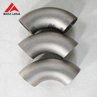 Wholesale 90 Degree Titanium Elbow , Chemical Forged Butt Weld Elbow SCH40 Gr1 Gr2 from china suppliers