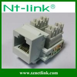 Buy cheap AMP white color utp cat5e rj45 keystone jack from wholesalers