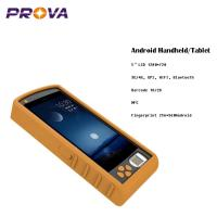 Buy cheap 1D 2D Barcode Scanner , Android Fingerprint Handset Support For A-GPS from wholesalers
