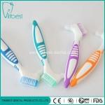 Buy cheap Nylon Bristle Oral Care Denture Tooth Brush Two Head from wholesalers