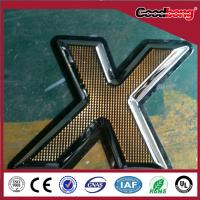 Fashionable waterproof stainless steel LED signs Manufactures