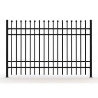 Buy cheap Metal wrought iron steel fence panels from wholesalers