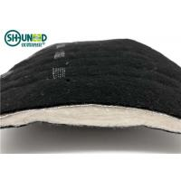 Wholesale Black Needle Punched nonwoven shoulder pads for Men's overcoat and jacket cloth from china suppliers