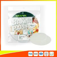 Buy cheap Silicone 8  Kitchen Non Stick Baking Sheet / Parchment Paper For Cooking from wholesalers
