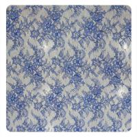 Wholesale Coloured Embroidery Designs Chantilly Lace For Wedding Dresses , French Lace Fabric from china suppliers