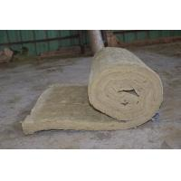 Buy cheap Residential Rockwool Insulation Blanket With Wire Mesh / Fiberglass Cloth from wholesalers