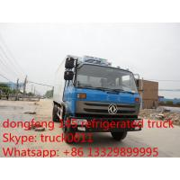 dongfeng brand LHD/RHD 10-12ton refrigerated truck for sale, best price freezer van truck for fresh fruits and vegetable Manufactures